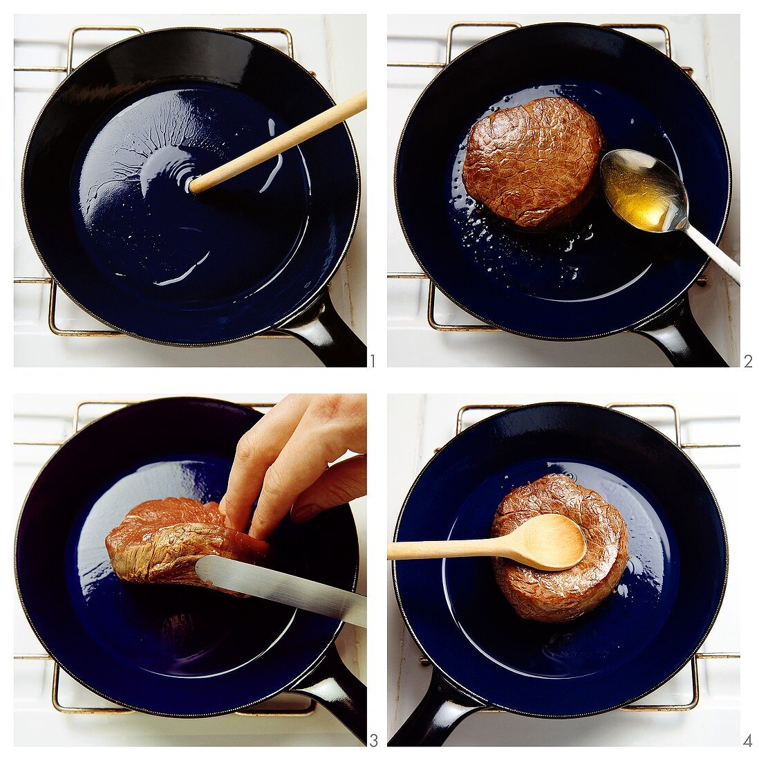 Testing the Heat of a Frying Pan
