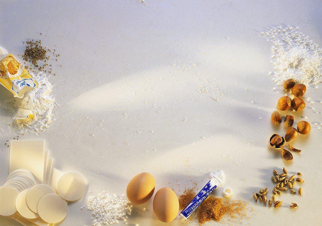 Assorted Baking Ingredient