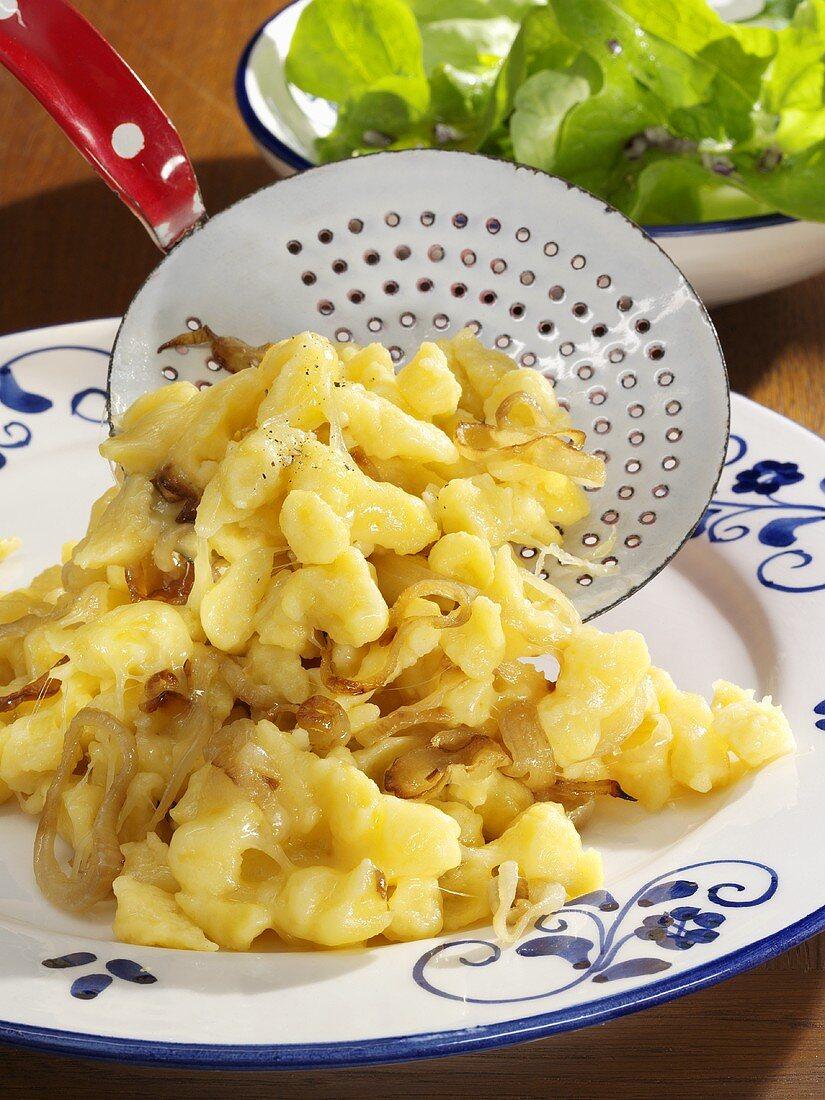 Cheese spaetzle from Vorarlberg