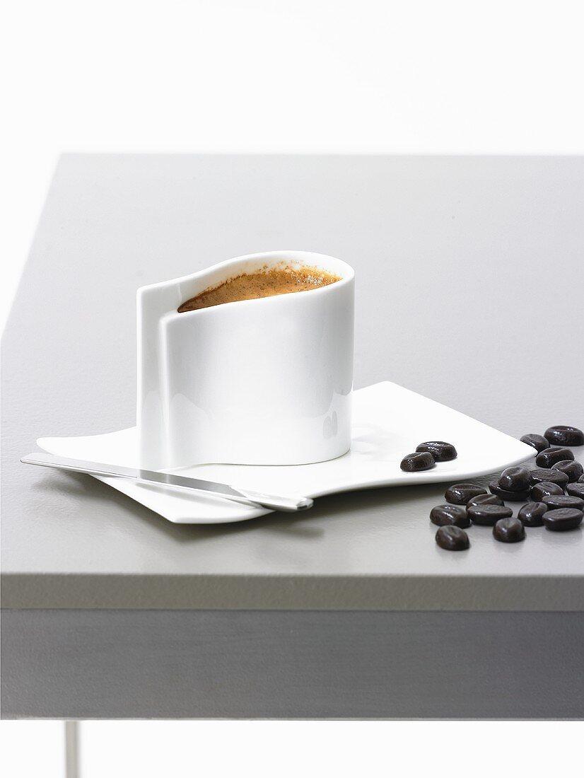 Caffè coretto (Espresso mit Grappa, Italien)