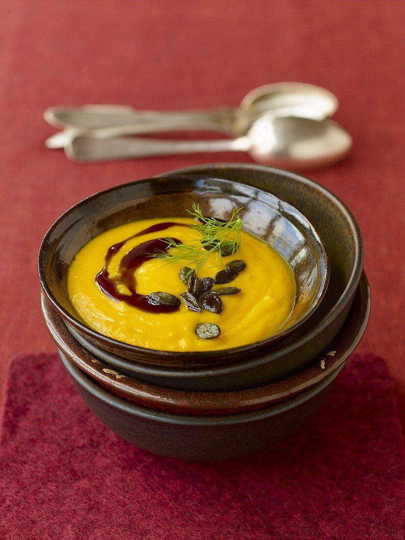Styrian pumpkin soup
