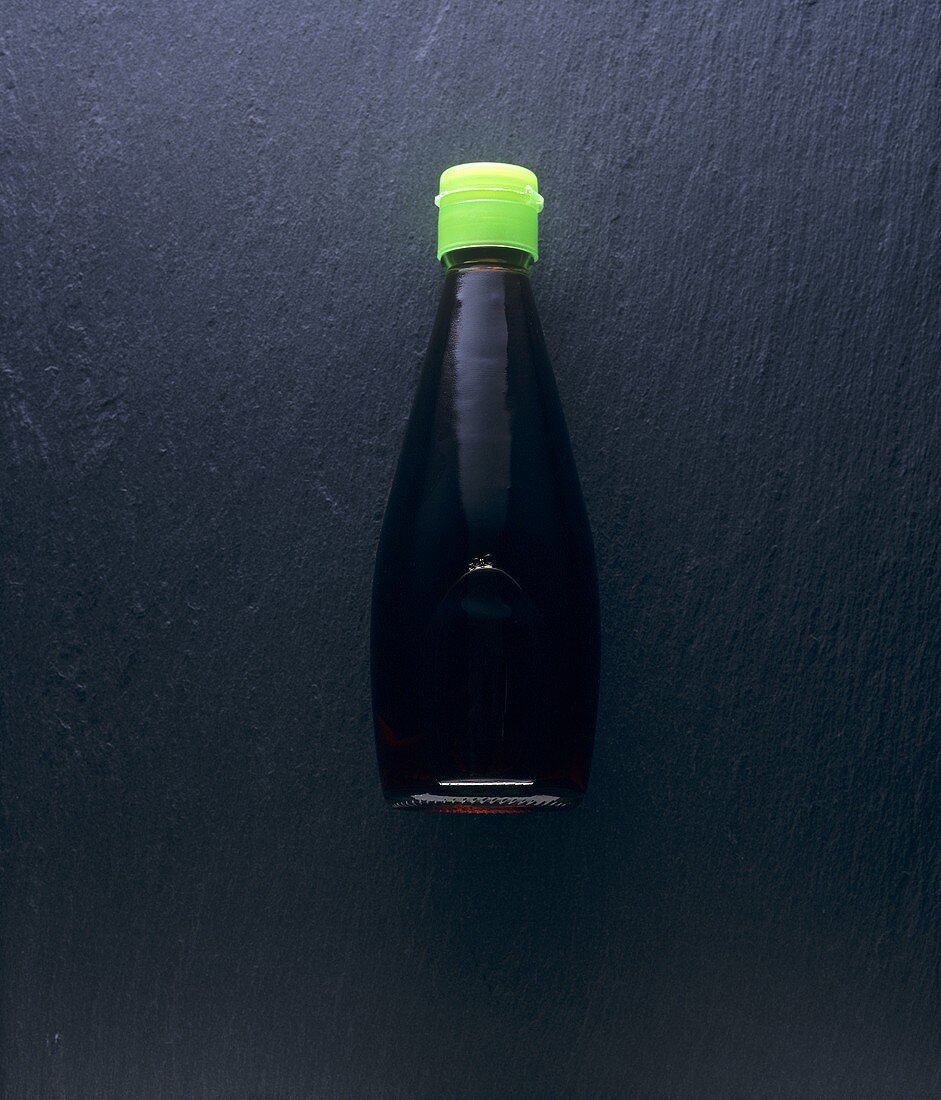 Asian fish sauce in the bottle