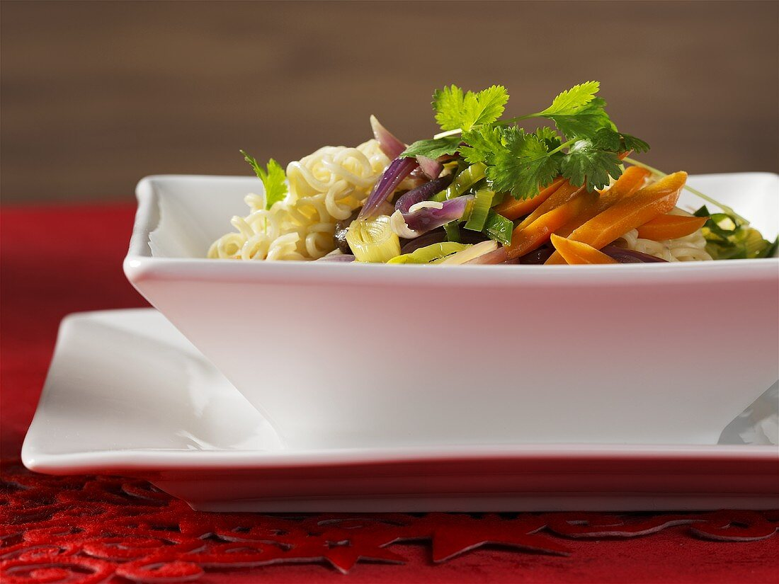 Side dish of vegetables (Christmas)