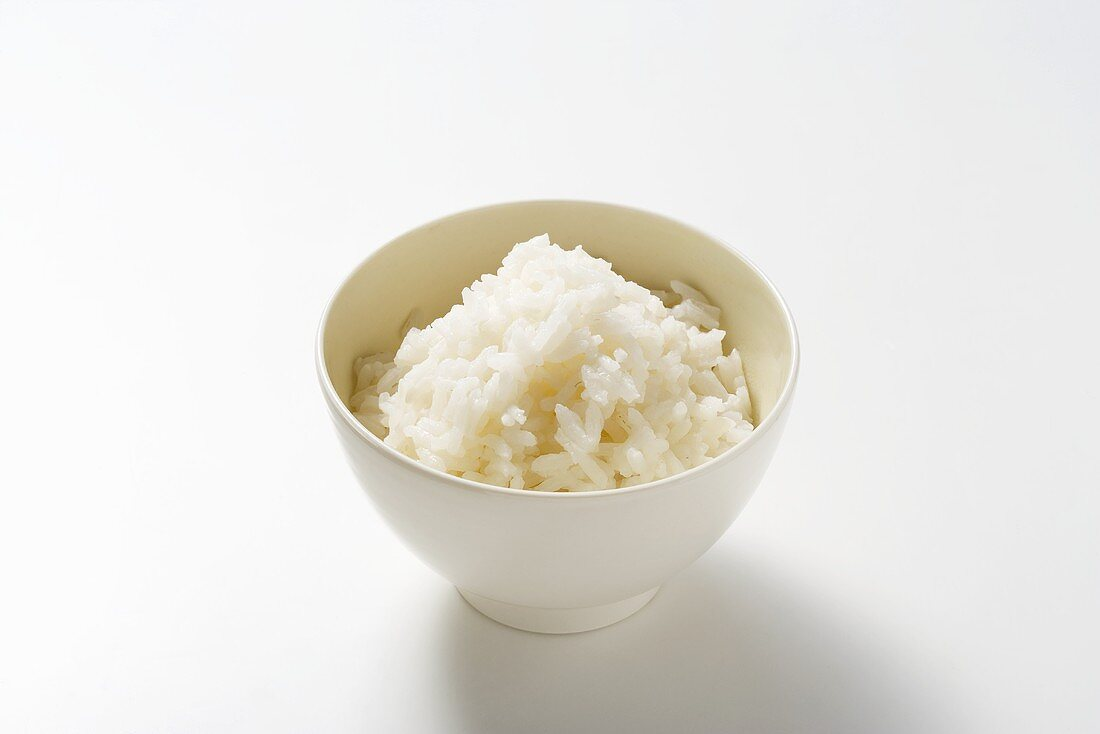 A bowl of boiled rice