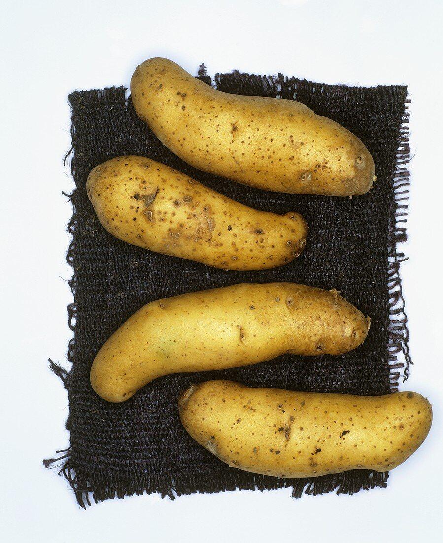 Potatoes, variety: La Ratte