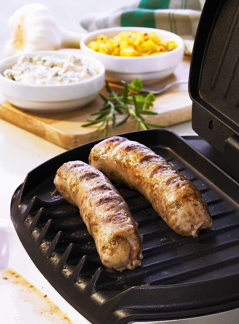 Lamb sausages