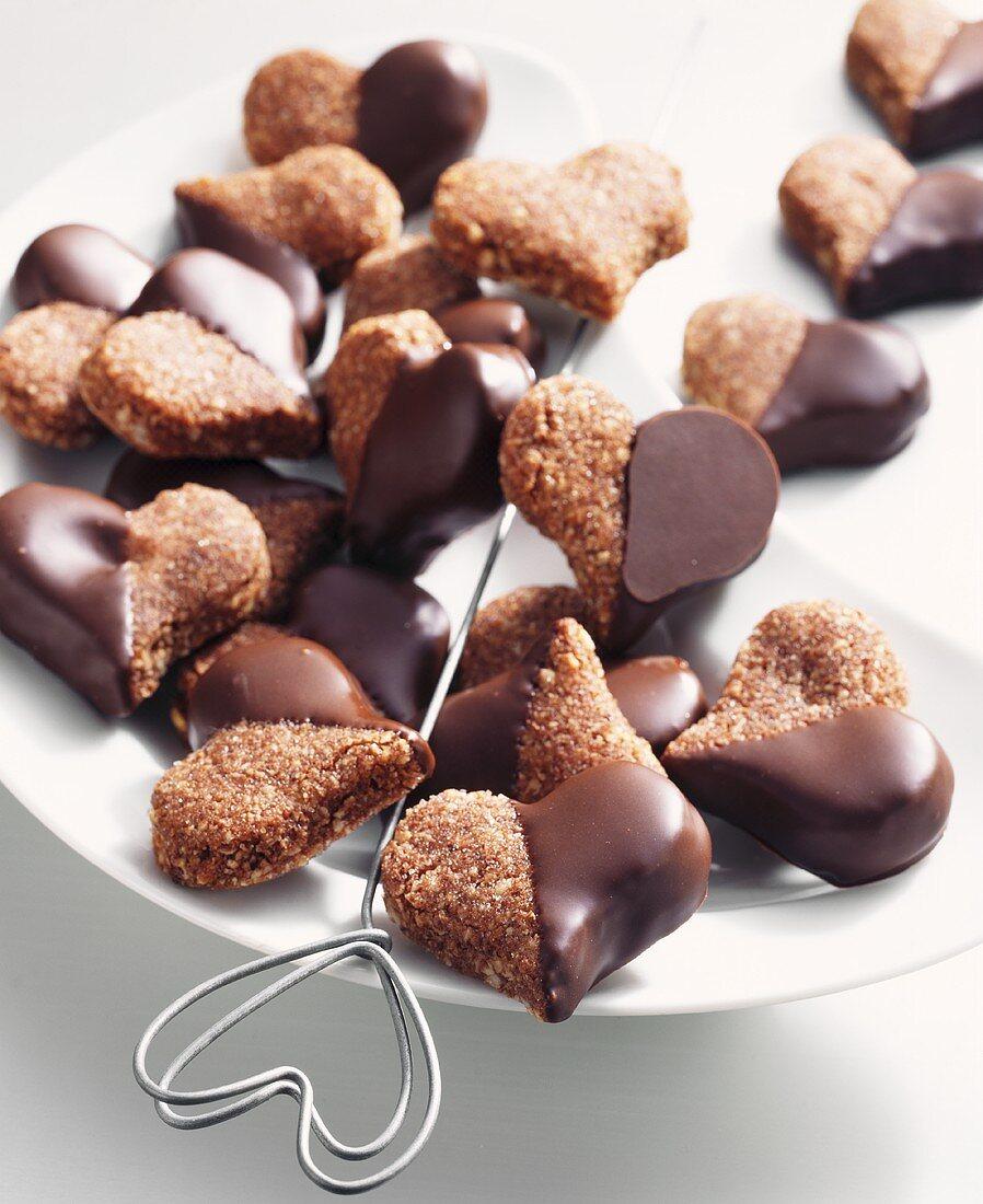 Basler Brunsli (Swiss Christmas cookies)
