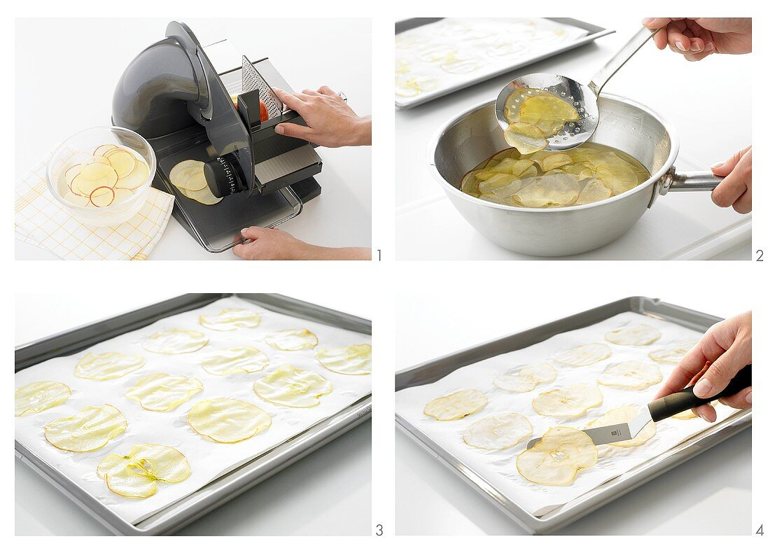 Apple chips being made