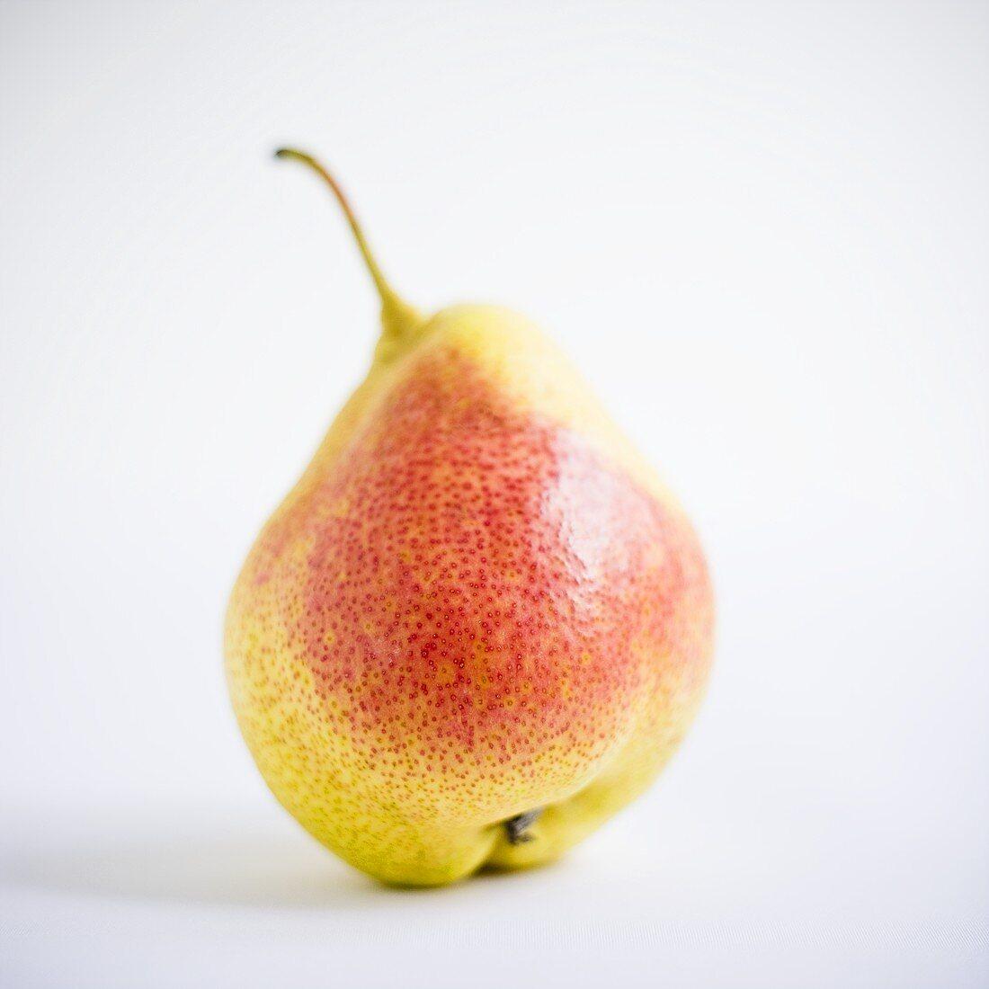 A Forelle pear