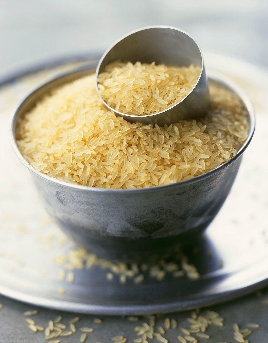 Brown rice (American long-grain)