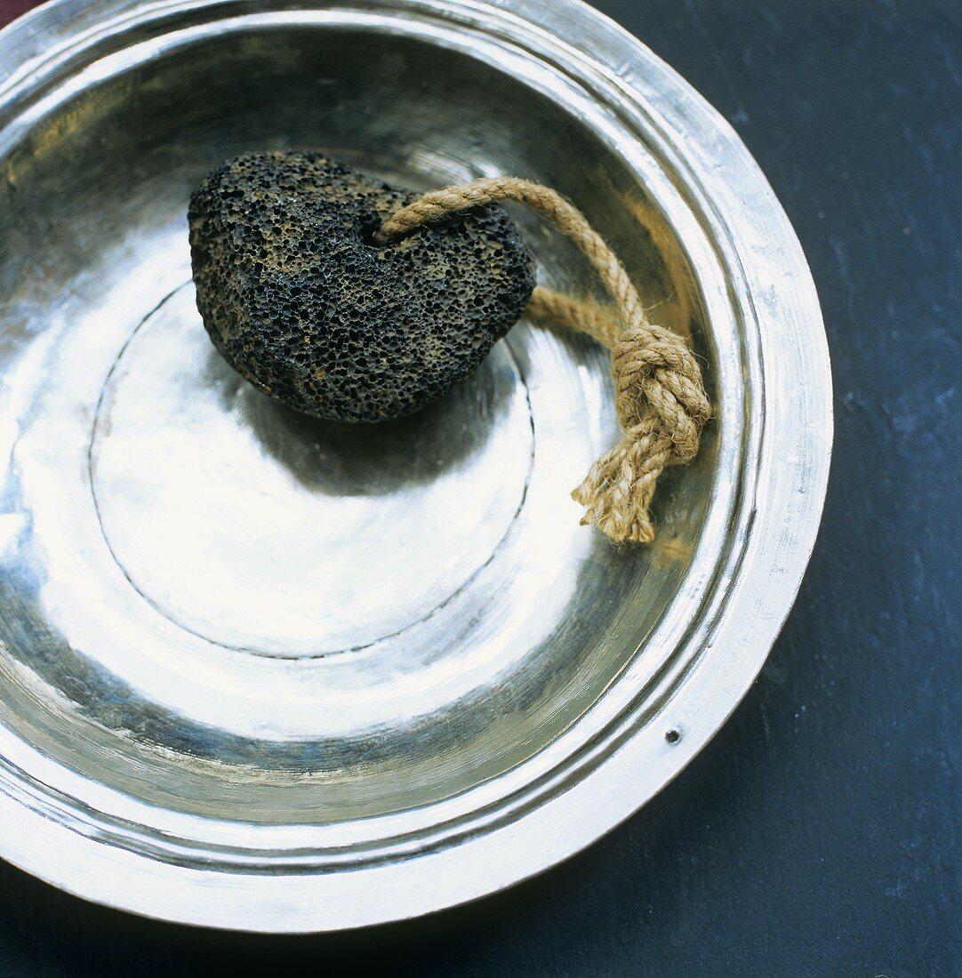 Pumice stone (used in skin care)