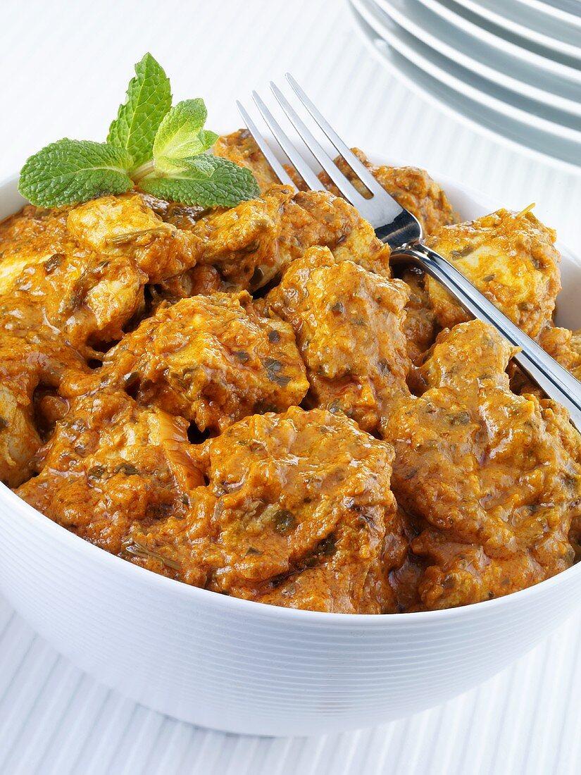 Chicken tikka masala (Indian chicken dish)