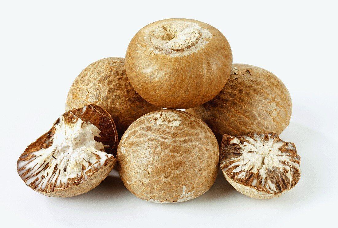 Betel nuts (Areca catechu L. India)