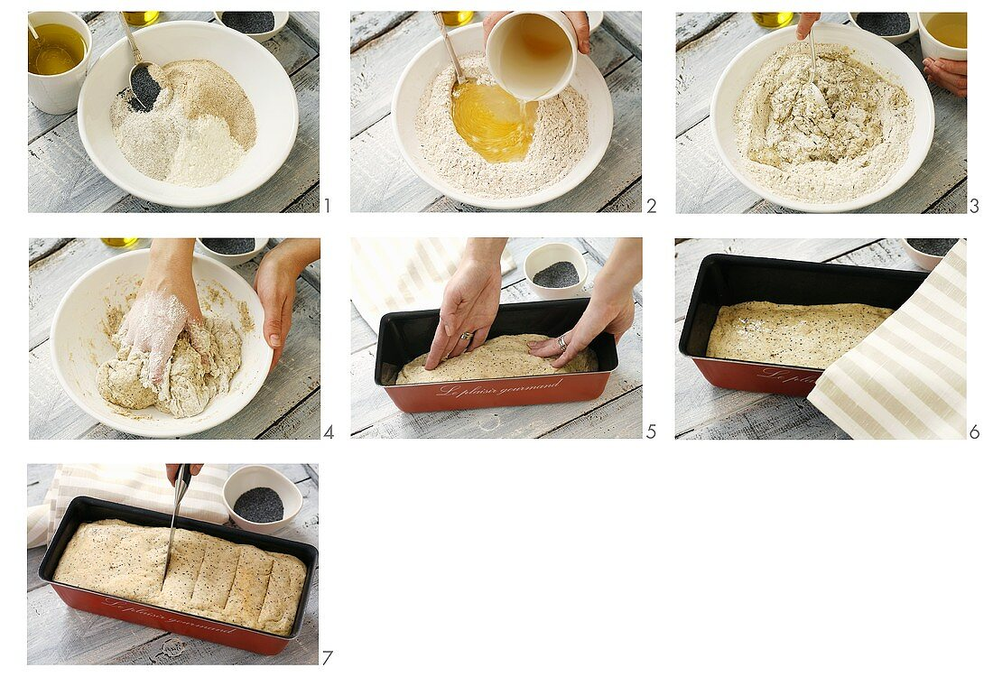 Making wholemeal bread