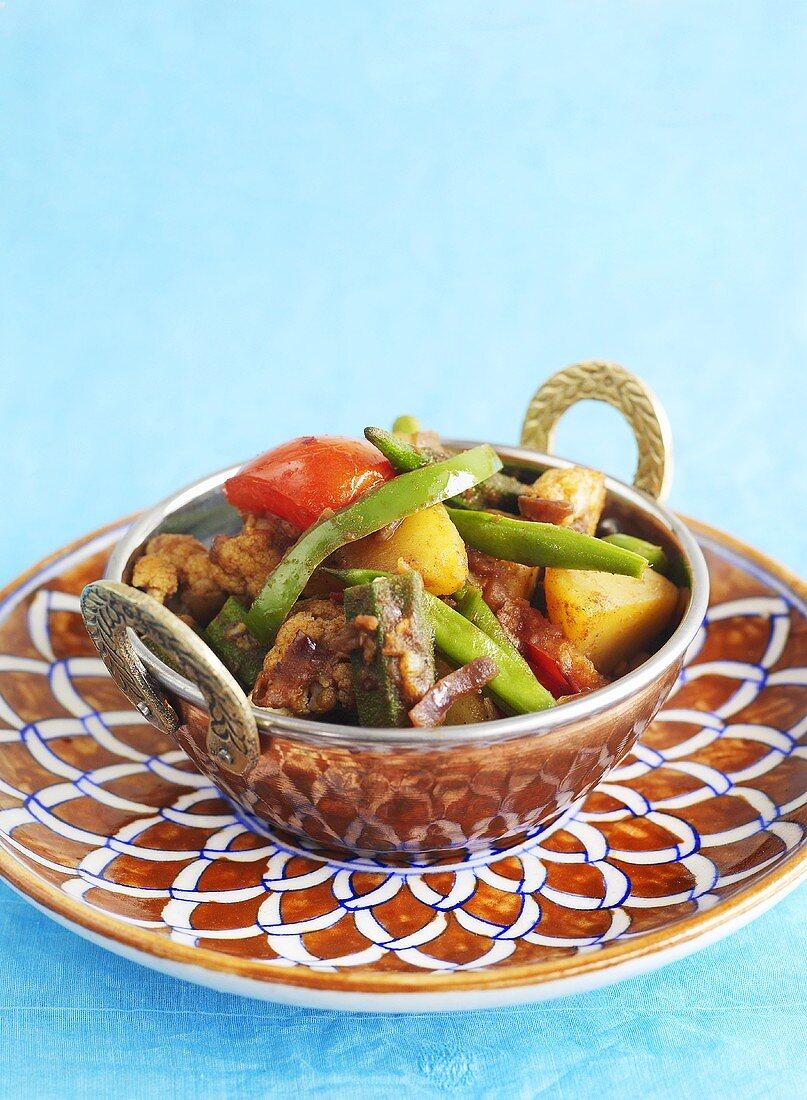Vegetable stew (India)
