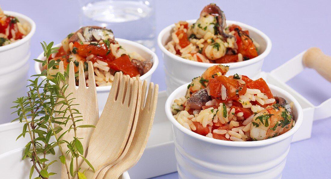 Salade de riz (Rice salad from the Camargue)
