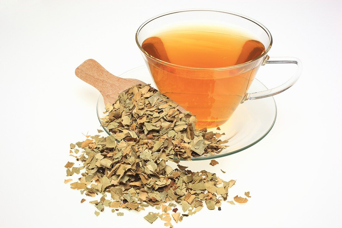 Bitter orange leaf tea