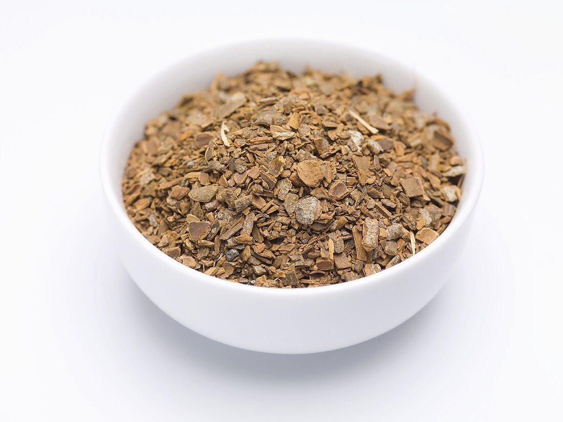 Crushed cinnamon