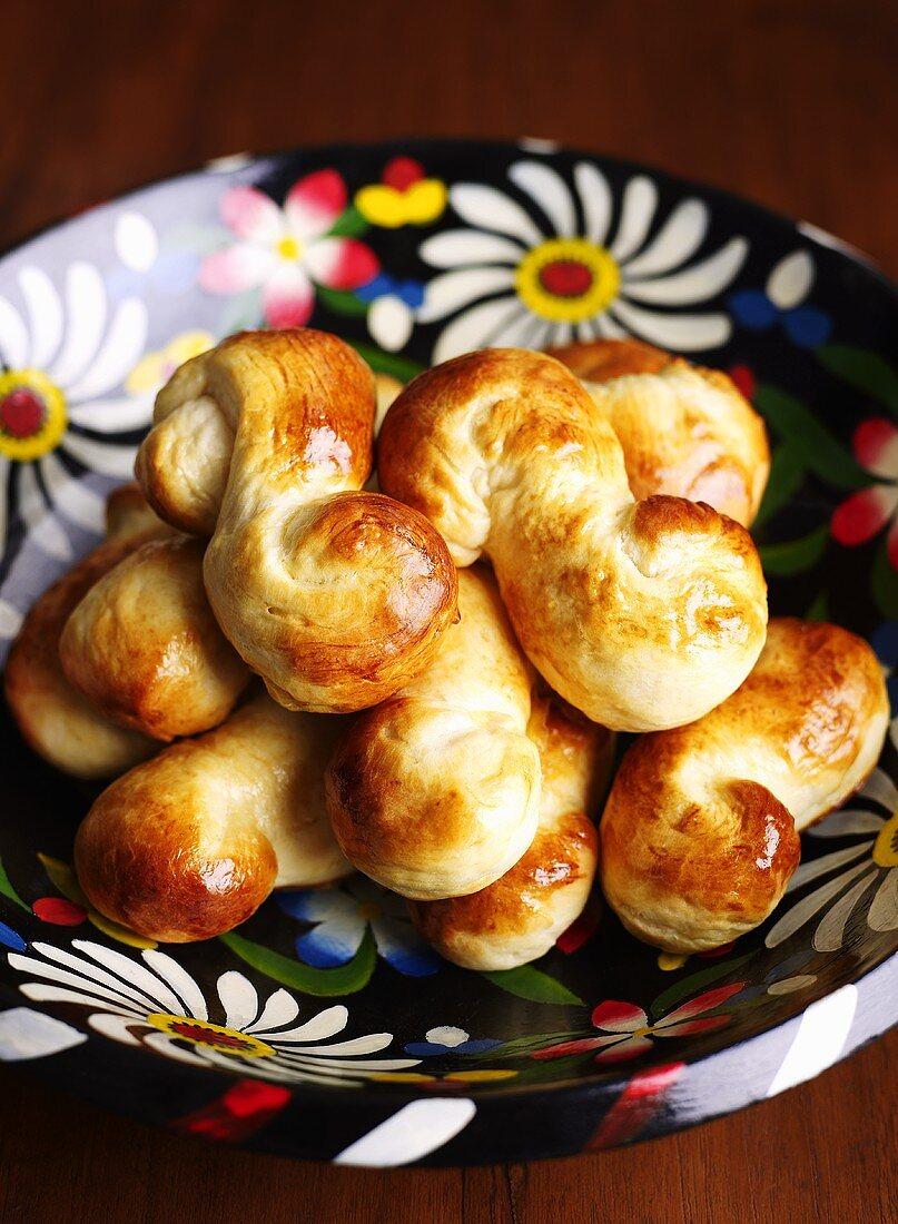 Jewish yeast pastries