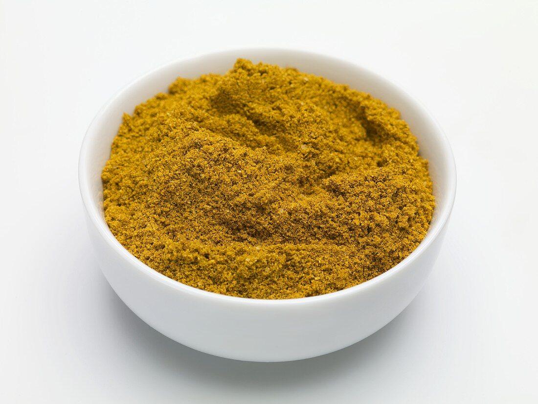 Cafe de Paris spice mixture in a small bowl