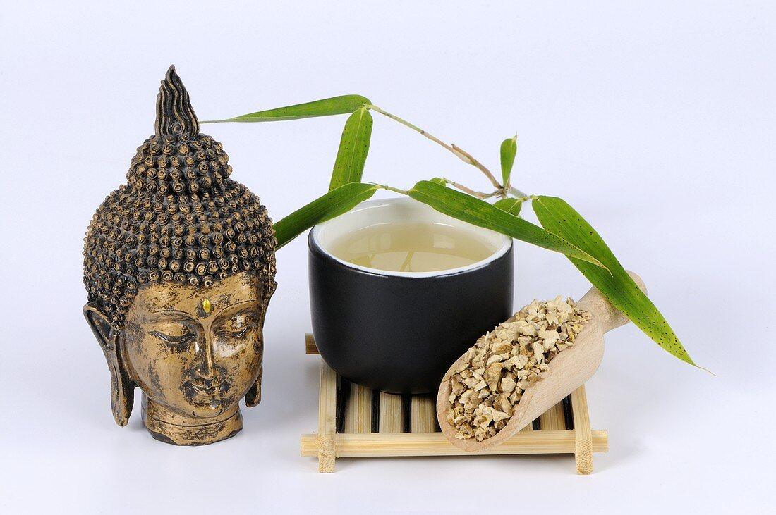 Dioscorea hypoglauca rhizome tea (Rhizoma Dioscoreae Hypoglaucae, Fen Bi Xie)