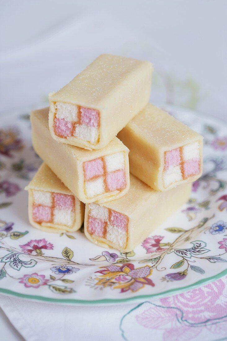 Battenberg cake (UK)