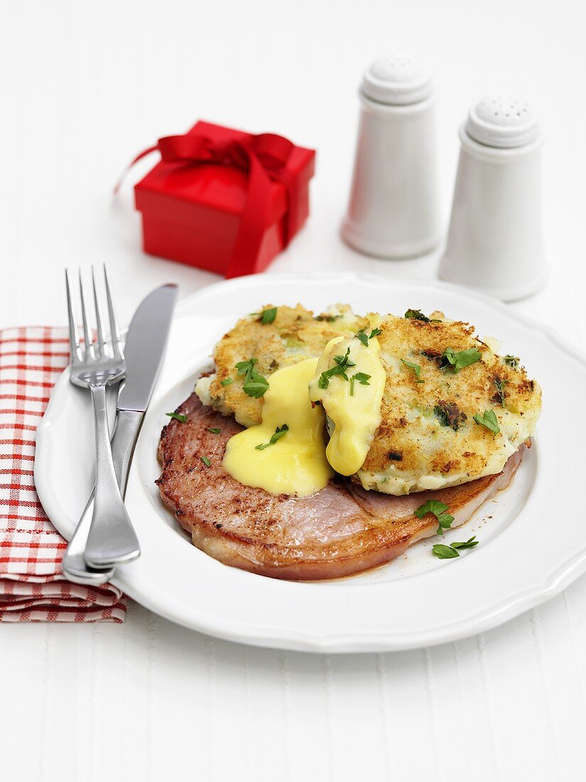 Bubble and squeak for Christmas (England)