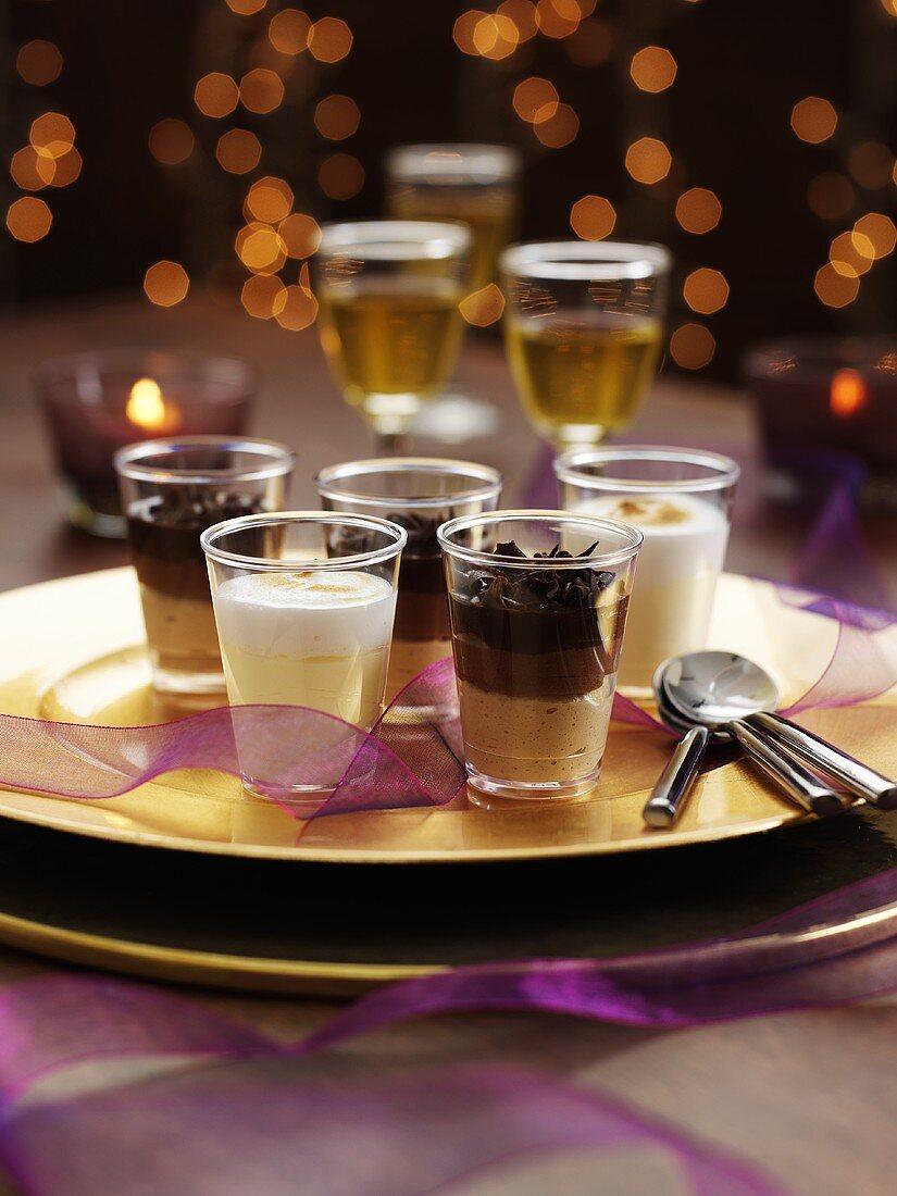 Chocolate desserts for Christmas