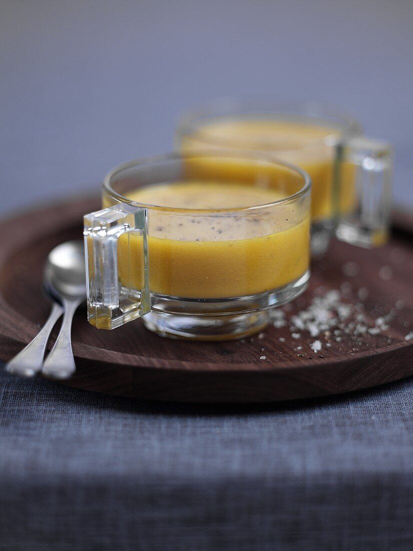 Carrot and Riesling soup