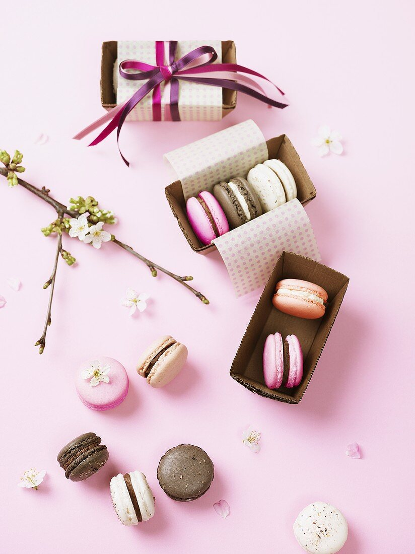 Macaroons as a present