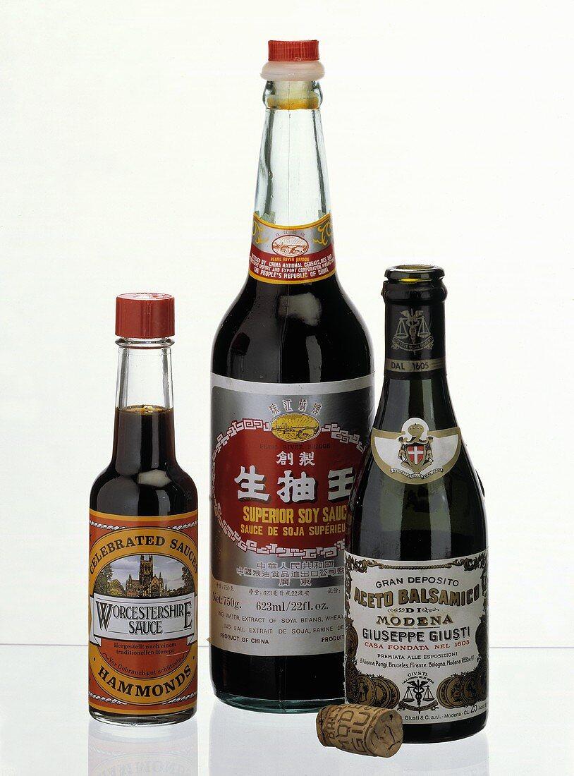 Assorted Seasoning Sauces