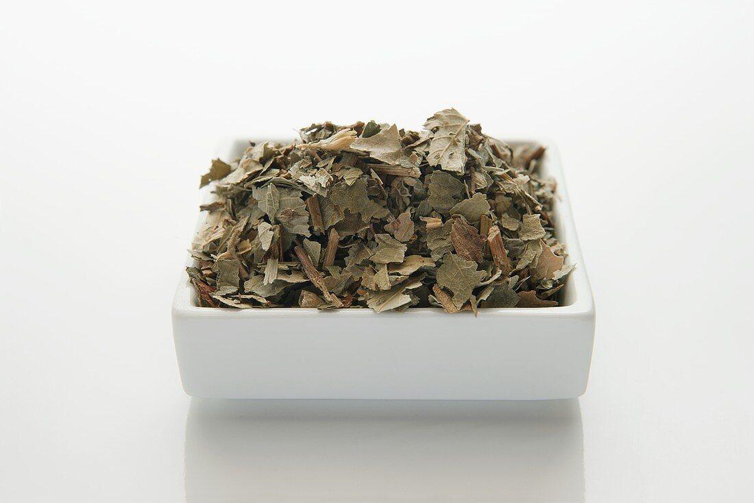 Brombeerblätter (Rubi fruticosi folium), getrocknet