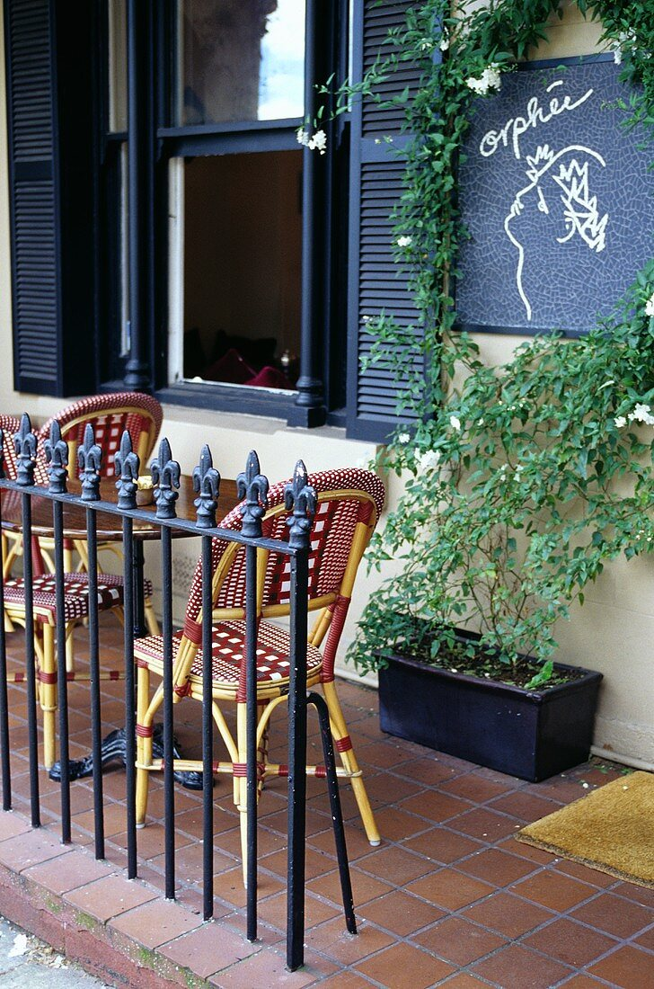 A little open air cafe