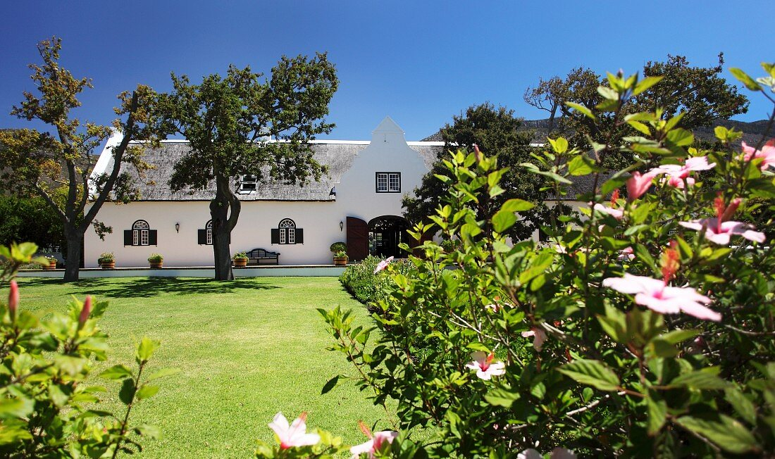 Cape Dutch fcountry house in Steenburg, Constantia, Western Cape, SA