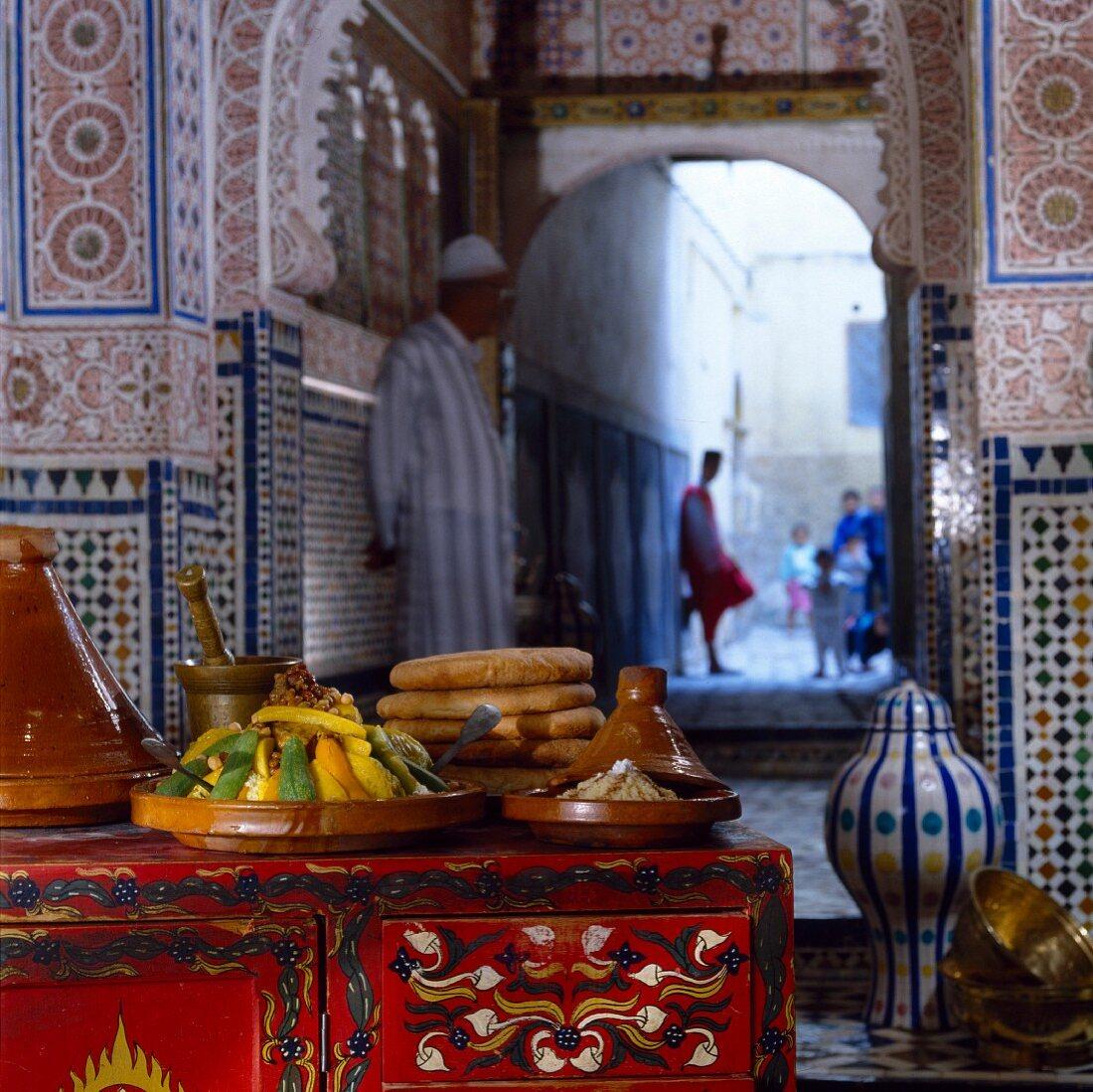 Moroccan couscous Fès style