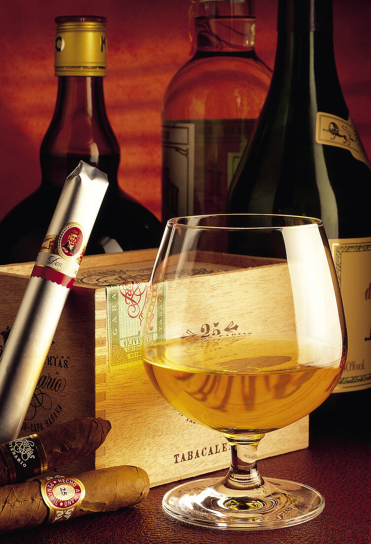 brandy and cigars