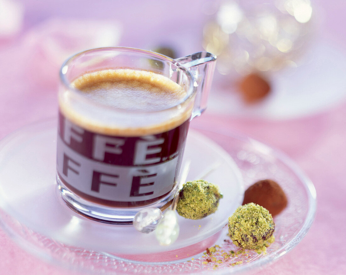 Coffee and candies