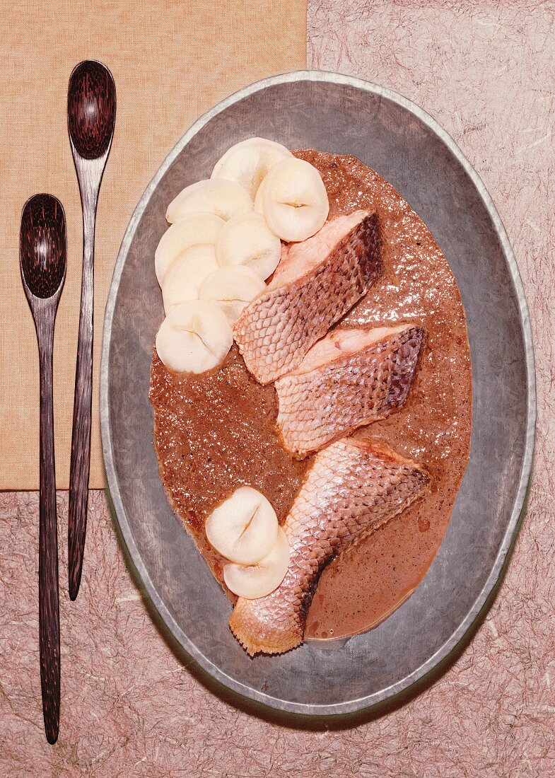 African-style fish
