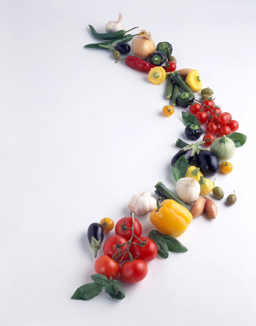 Composition of fruit and vegetables