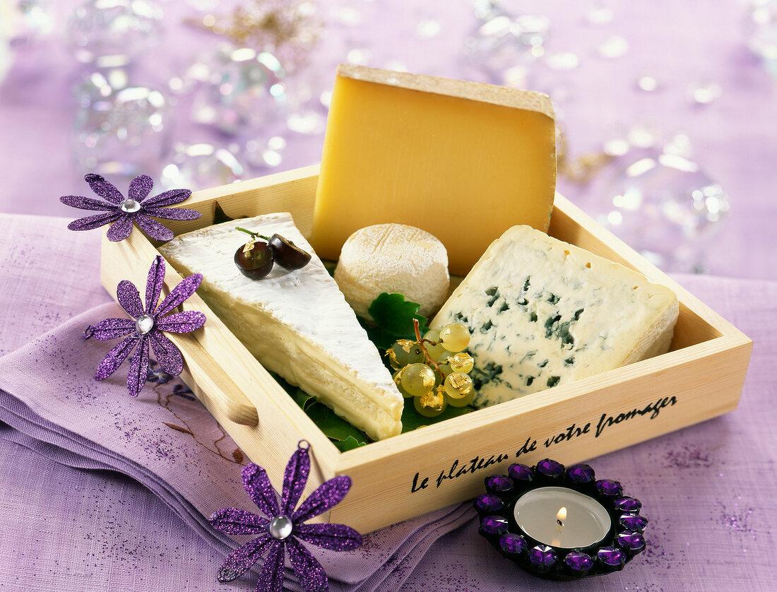 Cheese shop platter