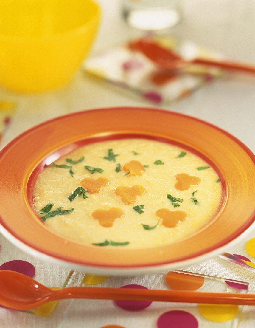 Cream of fresh corn
