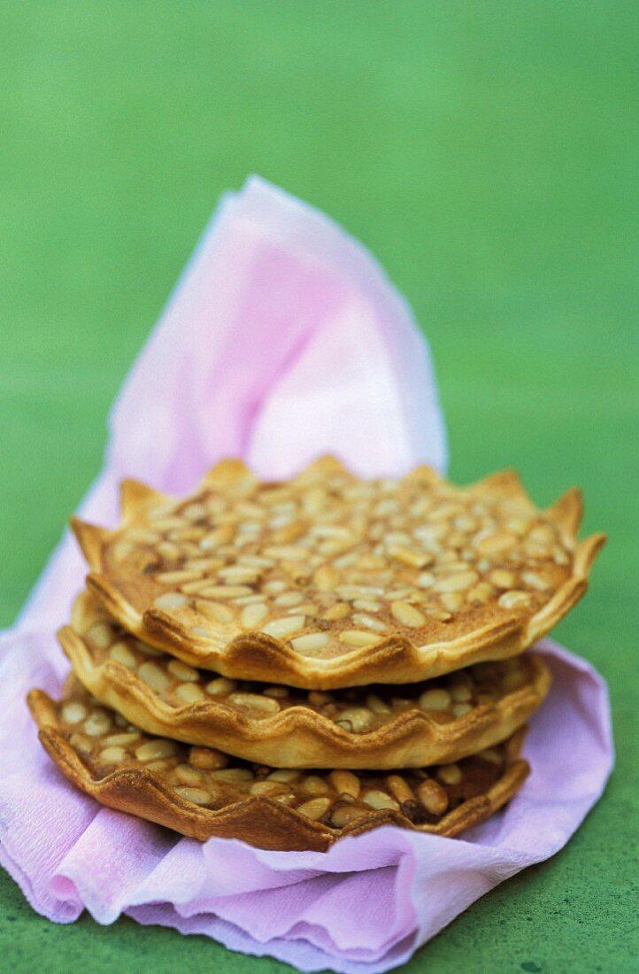 Pinenut tartlets