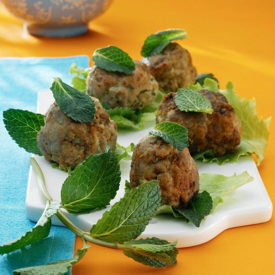 Köfte (oriental meatballs)