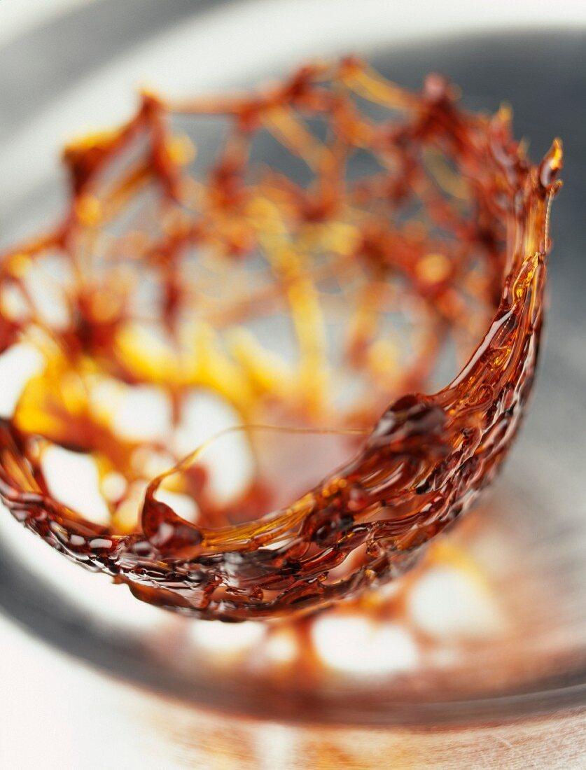 A caramel basket