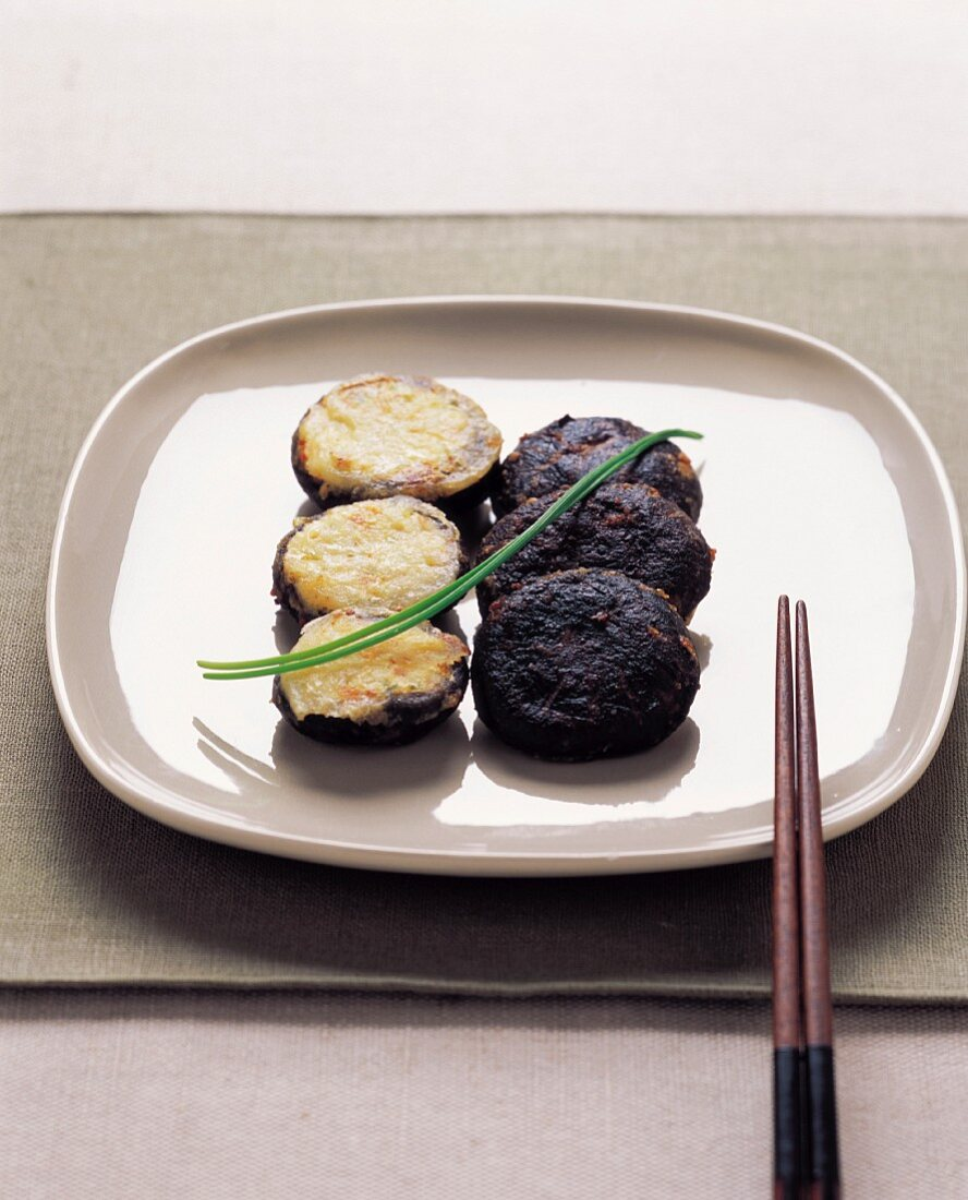 Shiitake Mushroom Pancake