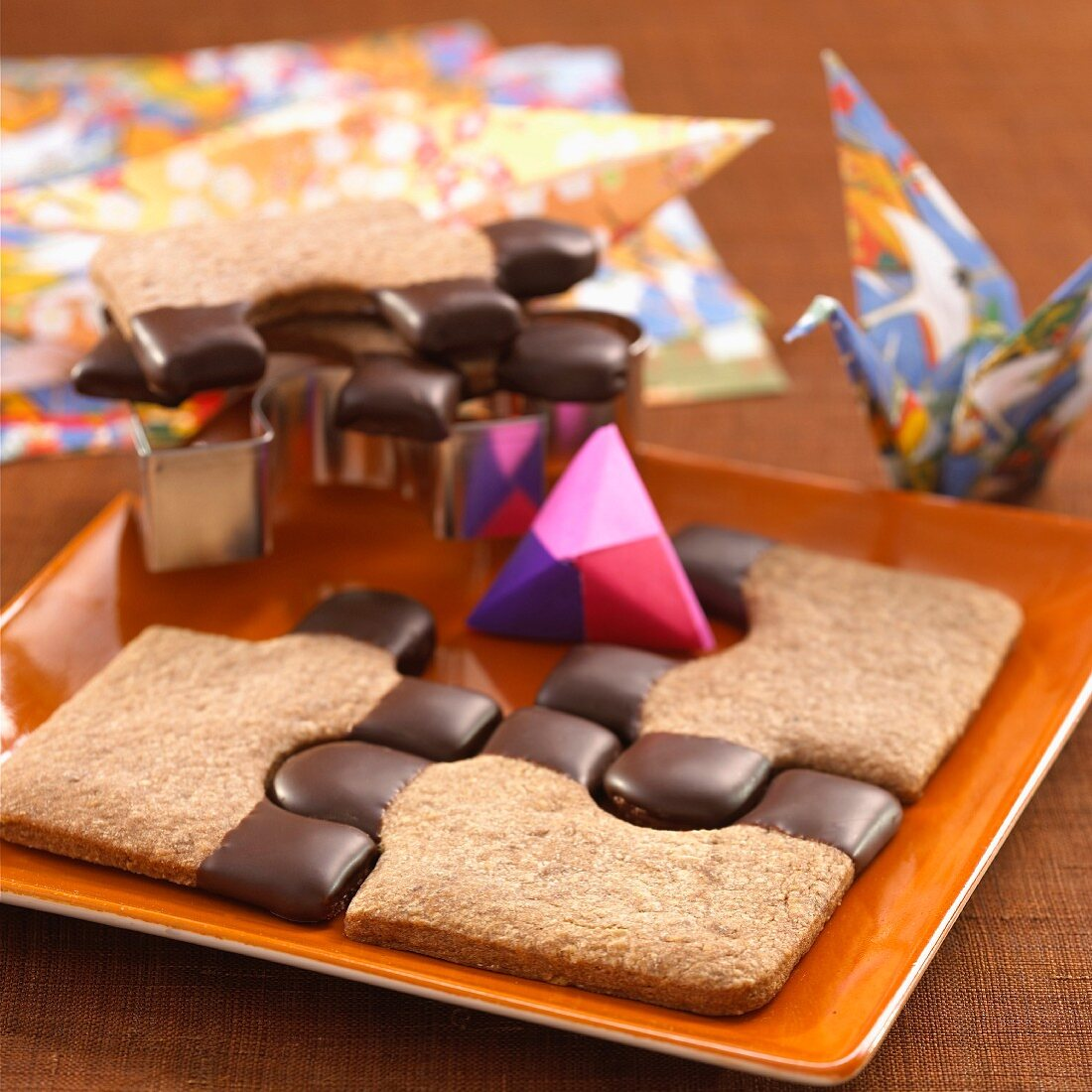 A sweet chocolate-dipped puzzle