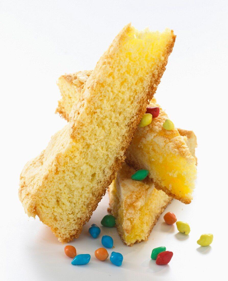 Savoy sponge cake