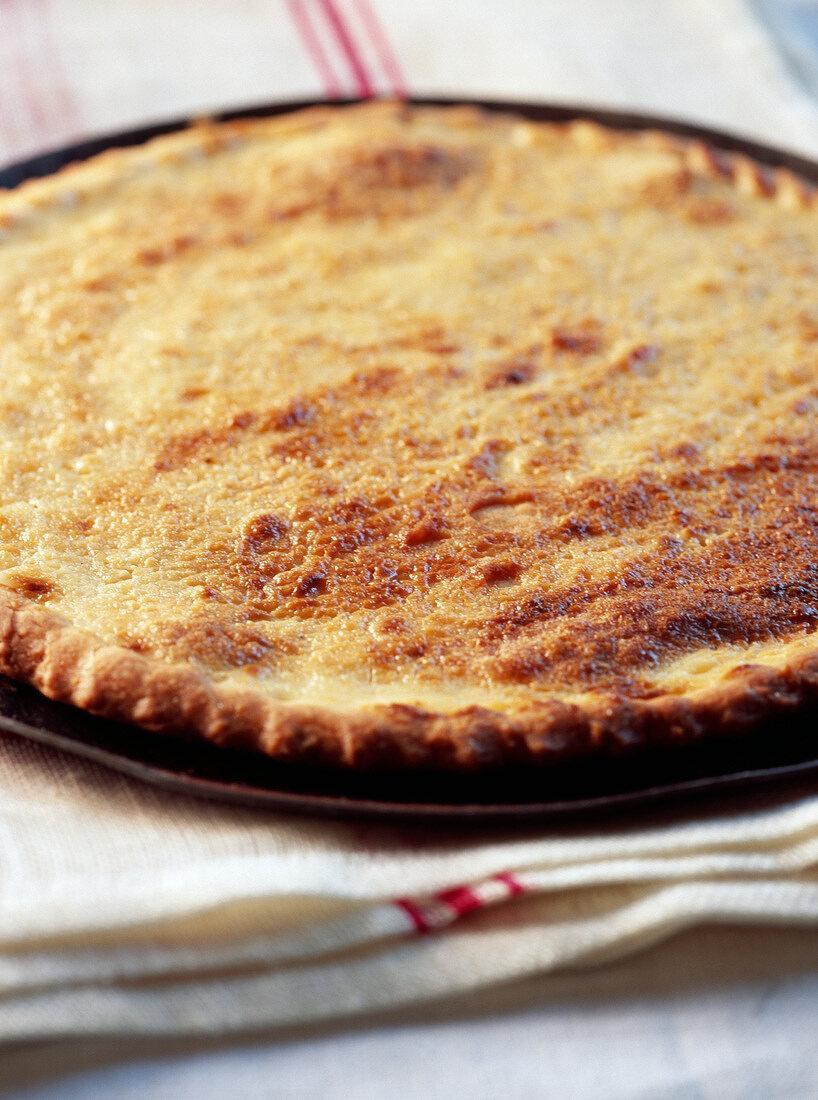 Galette au sucre de Pérouges (Traditioneller Kuchen aus Pérouges, Frankreich)