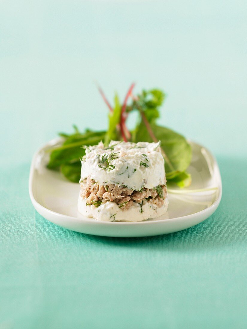 Tuna taratre with Faisselle