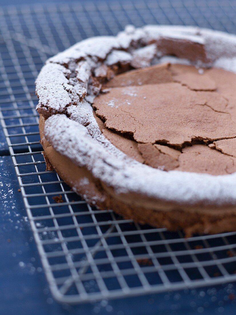 Fat-free chocolate cake